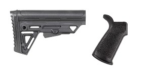 Omega Deals Stock and Pistol Grip Furniture Set: Featuring Trinity Force + Guntec