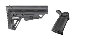 Omega Deals Stock and Pistol Grip Furniture Set: Featuring Trinity Force + Magpul