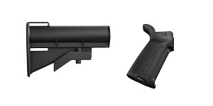 Omega Deals Stock and Pistol Grip Furniture Set: Featuring United Defense + Magpul