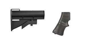 Omega Deals Stock and Pistol Grip Furniture Set: Featuring United Defense + A*B Arms