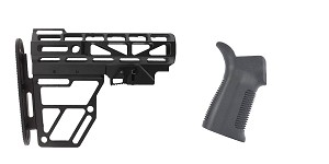 Omega Deals Stock and Pistol Grip Furniture Set: Featuring United Defense + Trinity Force
