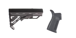 Omega Deals Stock and Pistol Grip Furniture Set: Featuring Davidson Defense + Trinity Force