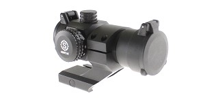 Red Dot Sight w/ Cantilever, 2 MOA Dot, 29MM Objective Lens - Black Finish