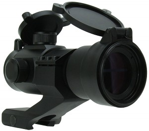 TacFire 1x30 Dual-Illuminated Red Dot Sight w/ Cantilever Mount **Perfect For AR-15 Rifles***