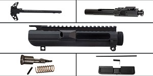 Omega Deals LR-308 Upper Starter Kit Featuring: Davidson Defense LR-308 Low Profile Upper Receiver, Dust Cover, Forward Assist, LR-308 BCG and Charging Handle