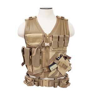 Vism Tactical Vest - Tan